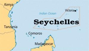 Сейшельские Острова на Карте Мира