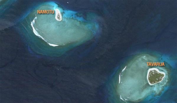 Остров-Таваруа-Фиджи-Расположение