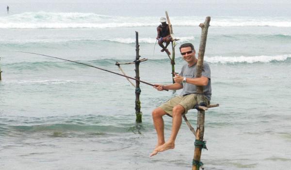 Рыбалка-на-Шри-Ланке
