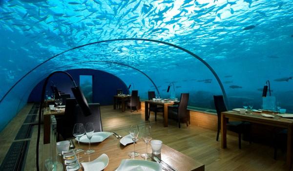 Подводный ресторан на Мальдивах - Расположение и Особенности