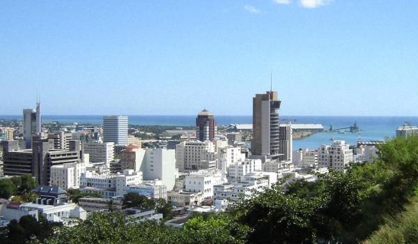 Порт Луи Маврикий - Расположение