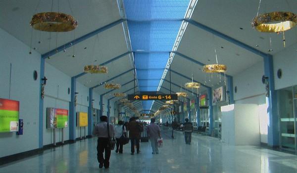 Международные аэропорты Шри-Ланки - Расположение