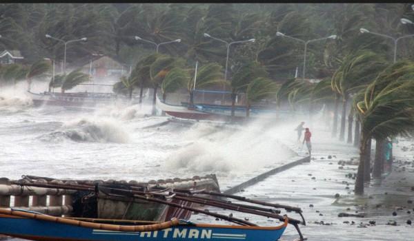 Цунами на Филипинах