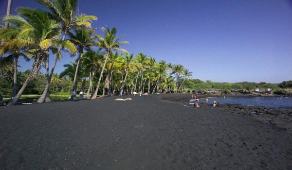 Пляжи Тенерифе с черным песком