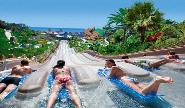 Тенерифе аквапарк Сиам - Достоинства