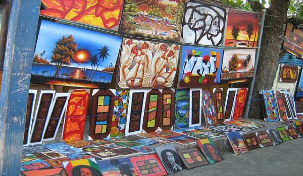 Город художников в Доминикане