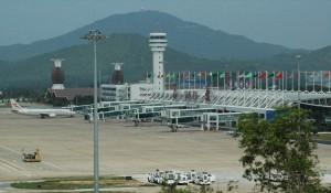 Аэропорт Санья Хайнань - Расположение и Особенности
